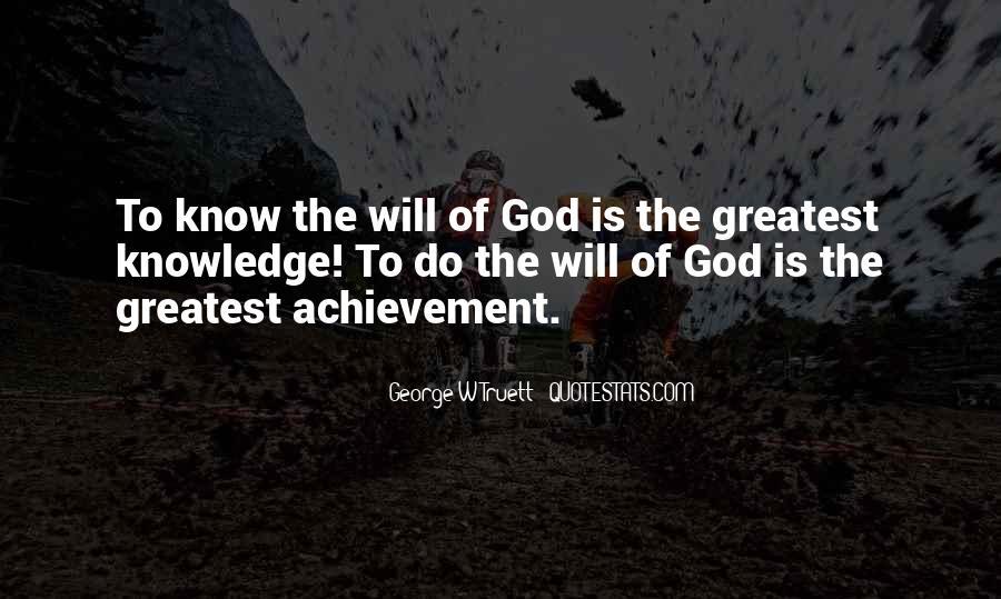 George W Truett Quotes #41177