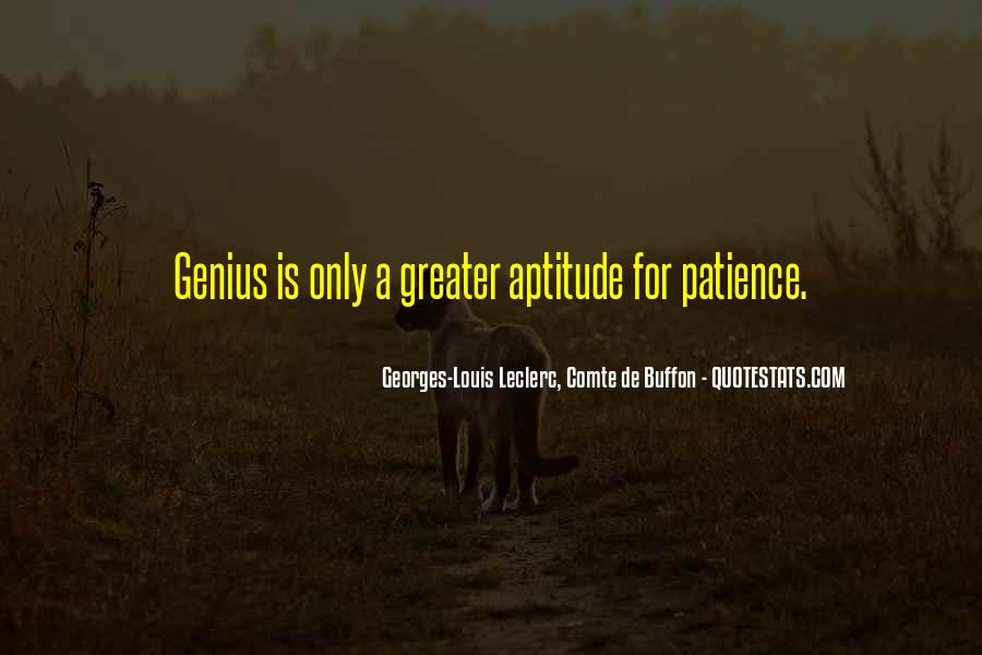 Georges-Louis Leclerc, Comte De Buffon Quotes #1857525