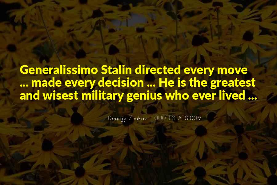 Georgy Zhukov Quotes #265862