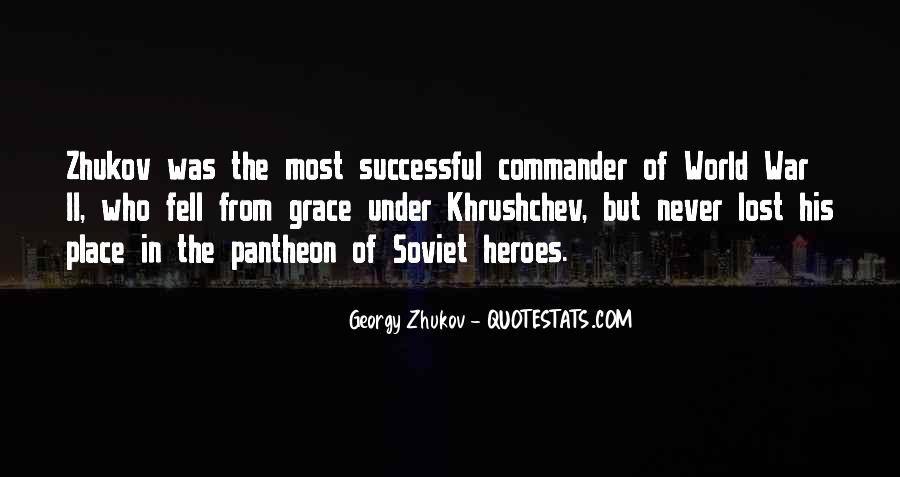Georgy Zhukov Quotes #534519