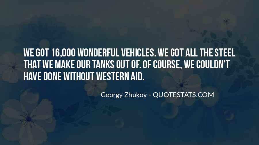 Georgy Zhukov Quotes #62071