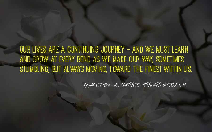 Gerald Coffee Quotes #1302208
