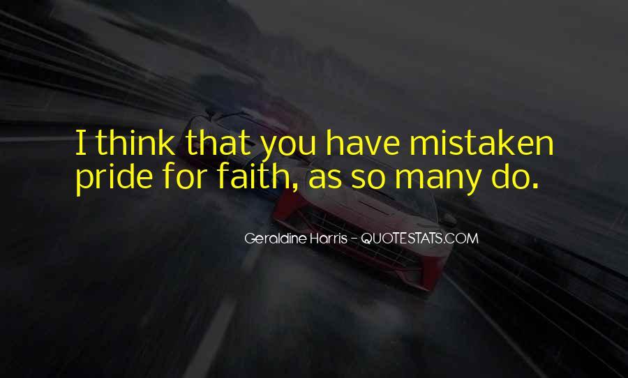 Geraldine Harris Quotes #1030475
