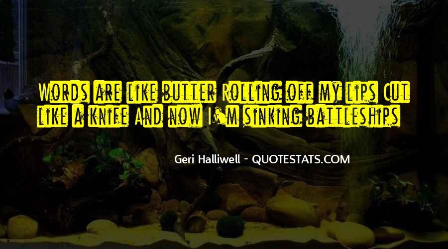 Geri Halliwell Quotes #777319