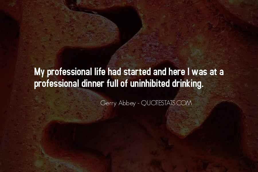 Gerry Abbey Quotes #1863826