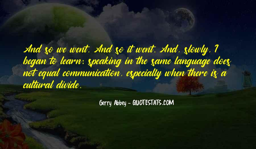 Gerry Abbey Quotes #386737