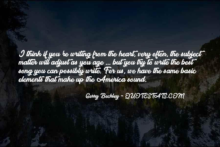 Gerry Beckley Quotes #1097997