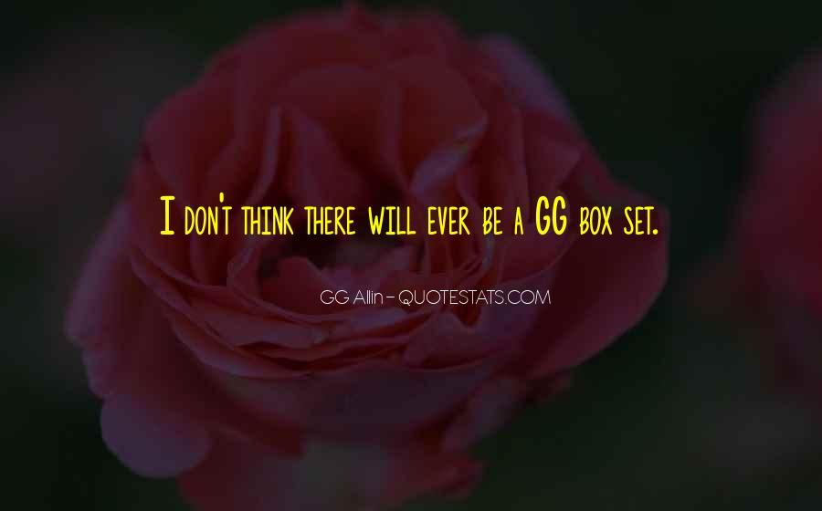 GG Allin Quotes #1372912