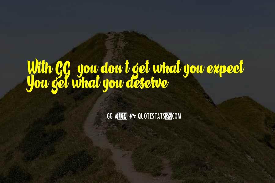 GG Allin Quotes #1399368