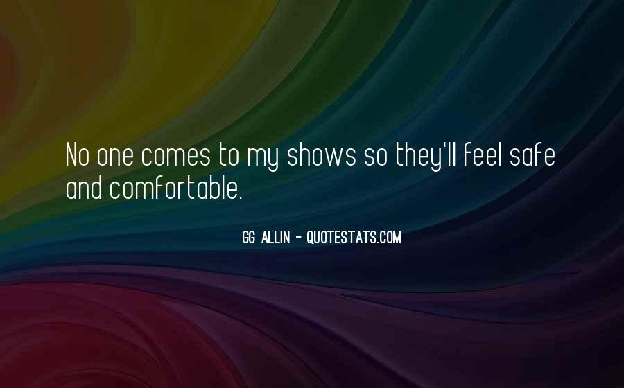 GG Allin Quotes #159381