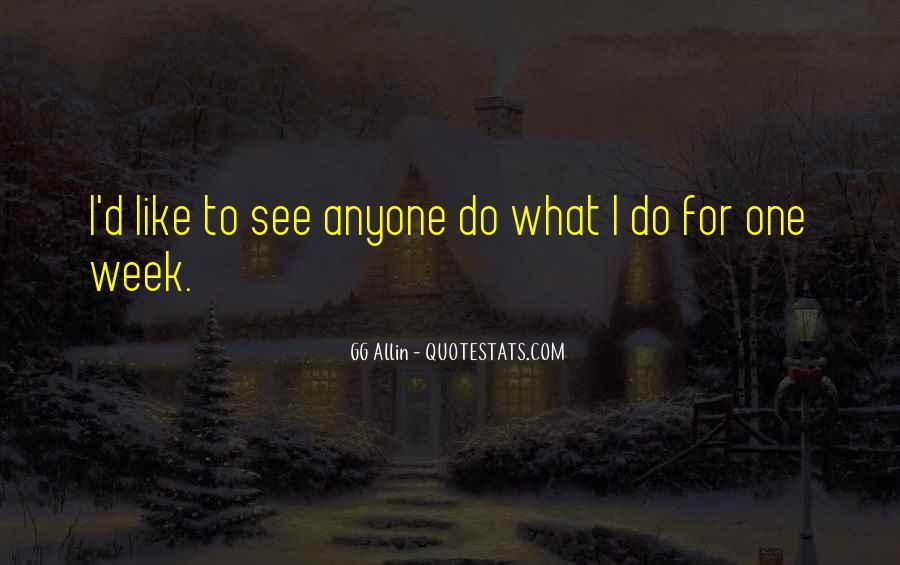 GG Allin Quotes #1828304