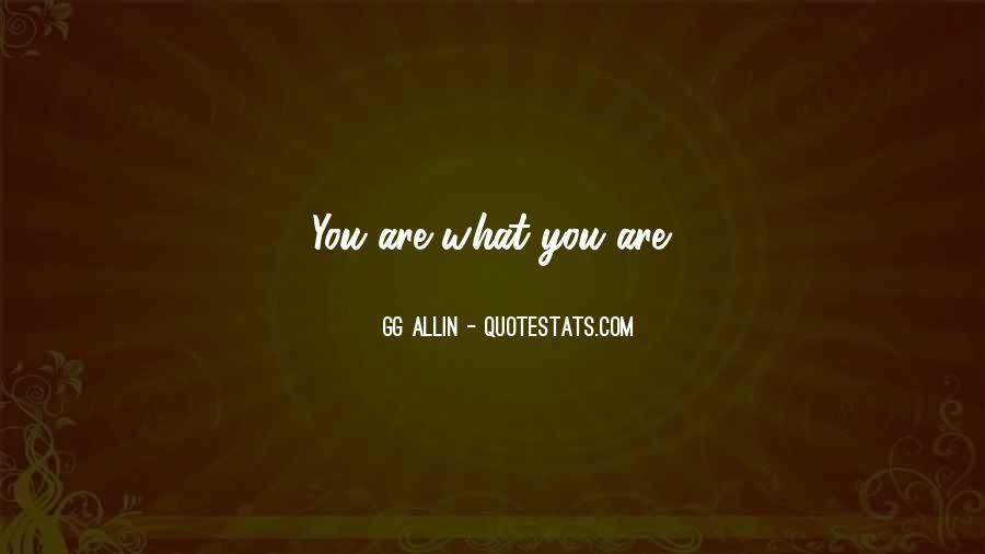 GG Allin Quotes #739829