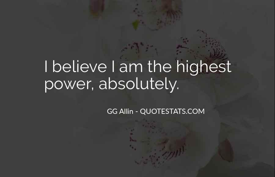 GG Allin Quotes #898323