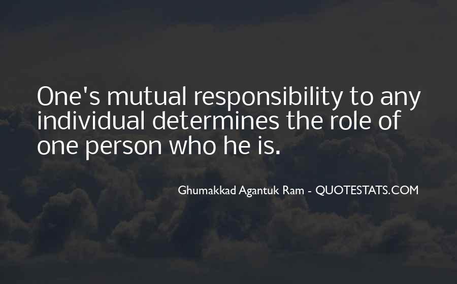 Ghumakkad Agantuk Ram Quotes #1163854
