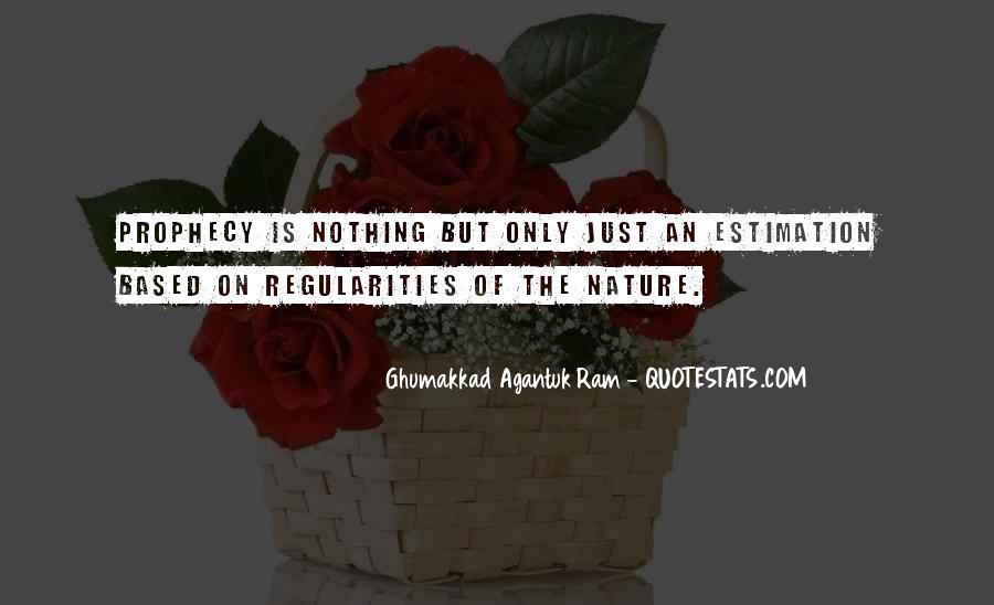 Ghumakkad Agantuk Ram Quotes #1233074