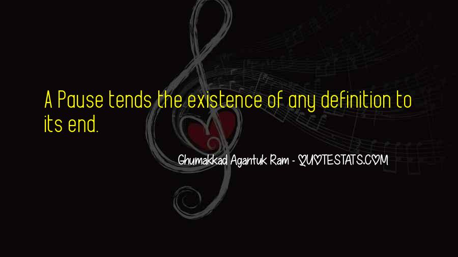 Ghumakkad Agantuk Ram Quotes #538997