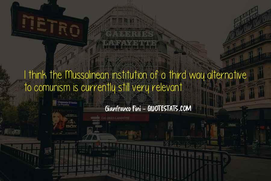 Gianfranco Fini Quotes #732474