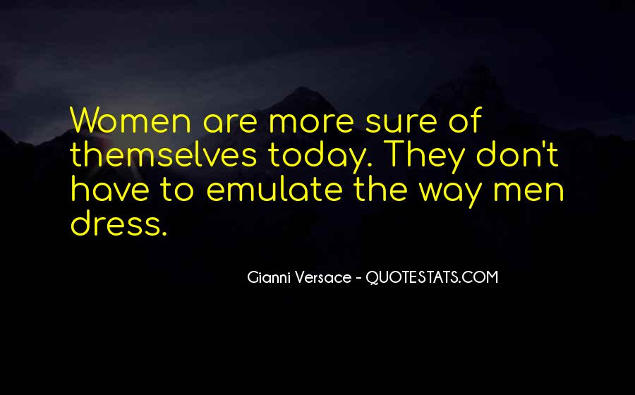 Gianni Versace Quotes #1146123