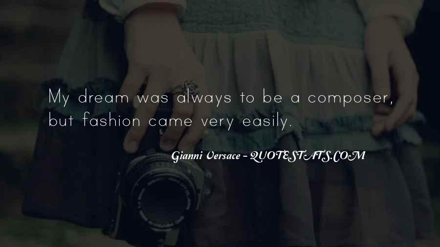 Gianni Versace Quotes #139706