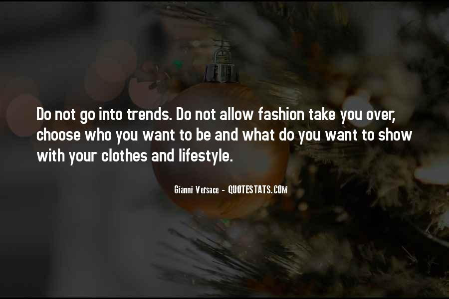 Gianni Versace Quotes #435712