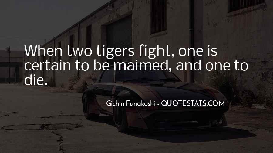 Gichin Funakoshi Quotes #1163162