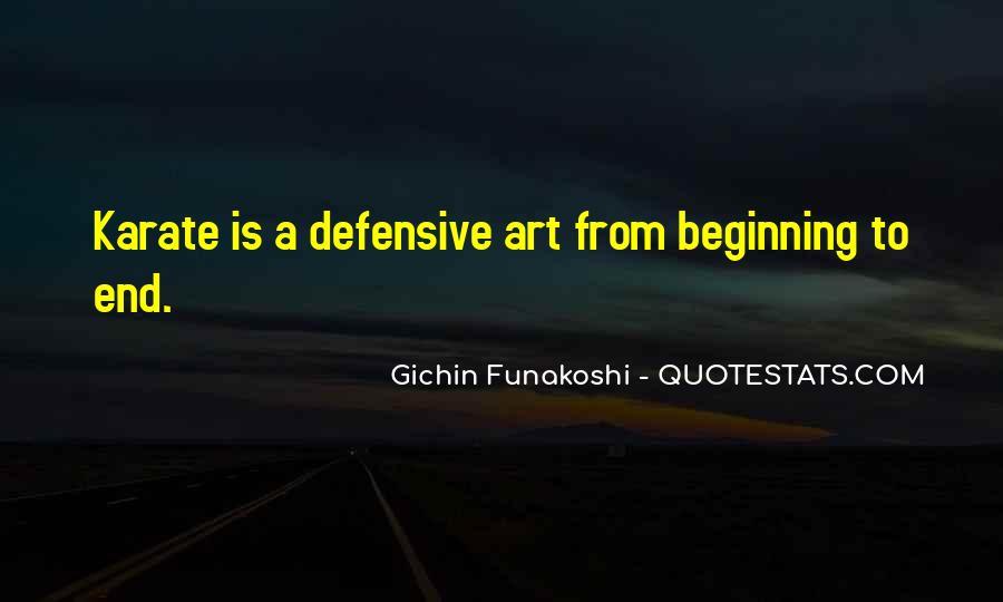 Gichin Funakoshi Quotes #1205137