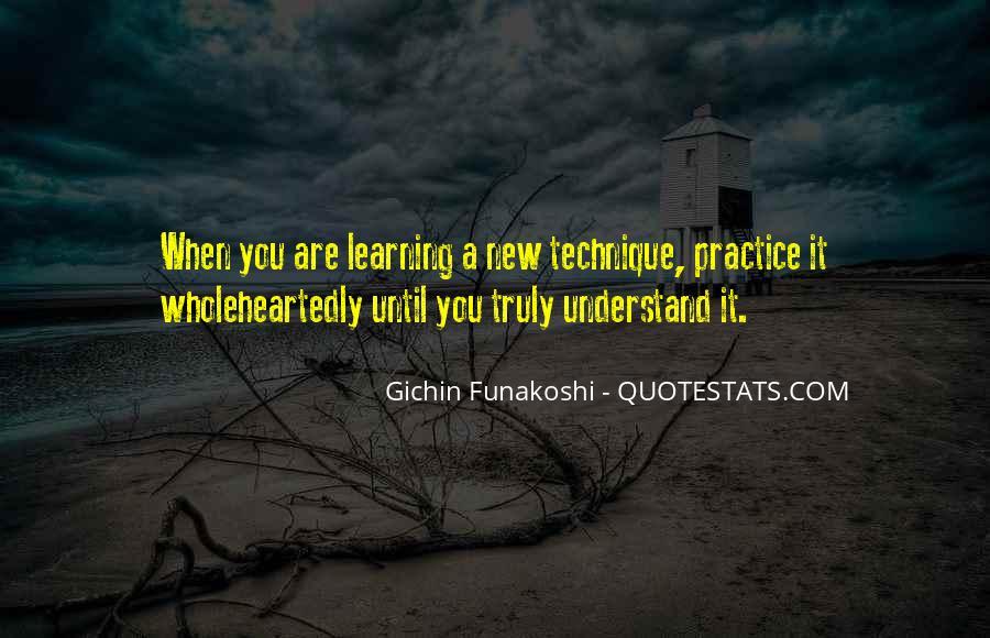 Gichin Funakoshi Quotes #1322415