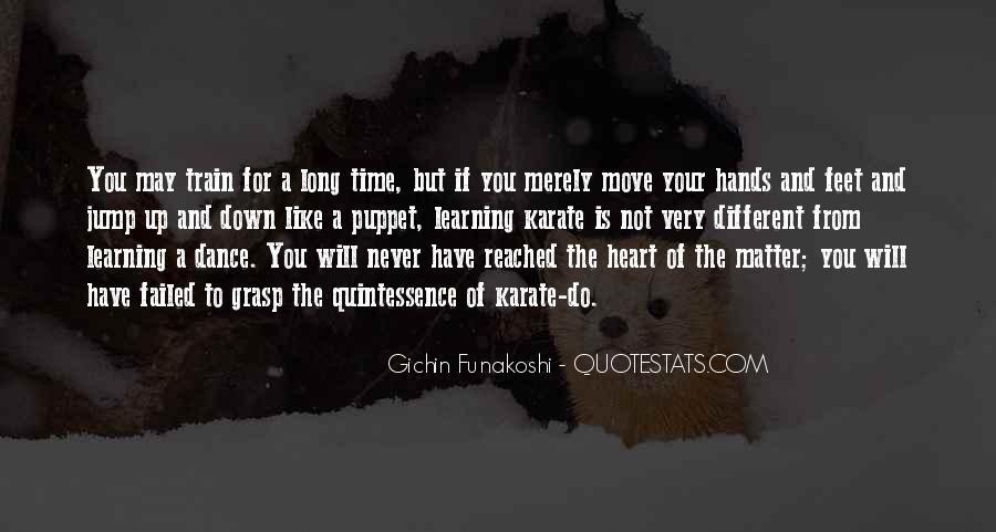 Gichin Funakoshi Quotes #1488998