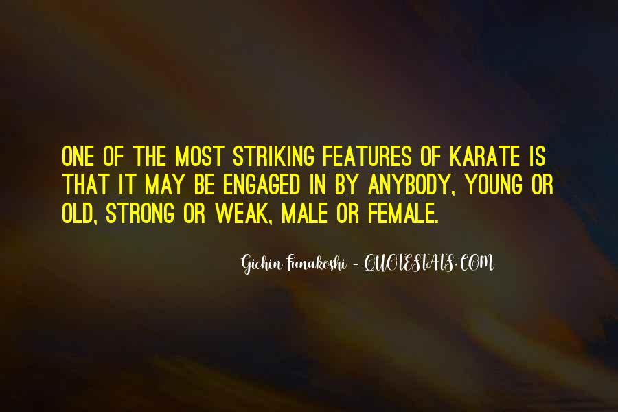 Gichin Funakoshi Quotes #1728909