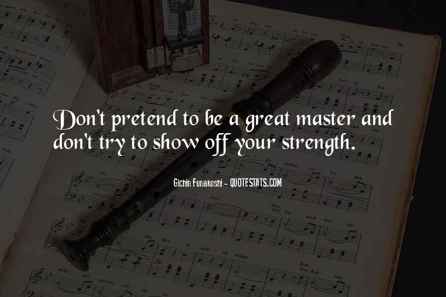 Gichin Funakoshi Quotes #220116