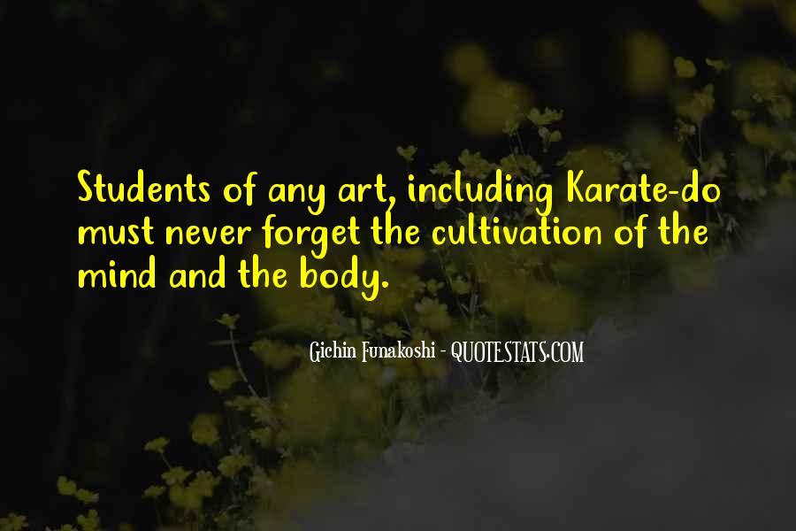 Gichin Funakoshi Quotes #230563