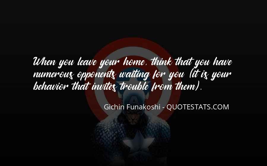 Gichin Funakoshi Quotes #796904