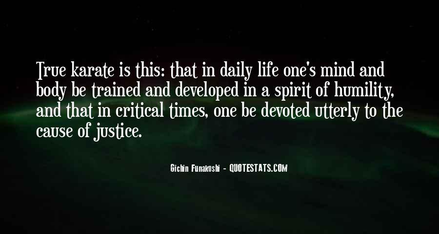 Gichin Funakoshi Quotes #90672