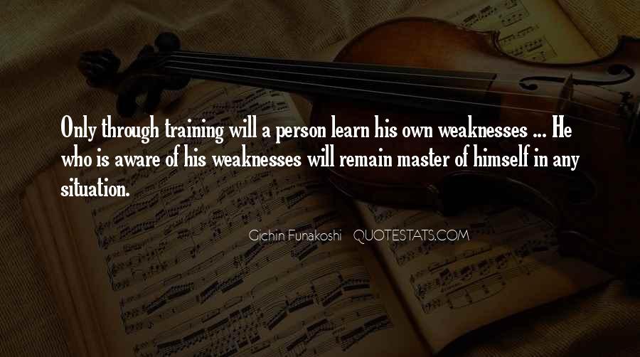 Gichin Funakoshi Quotes #910022