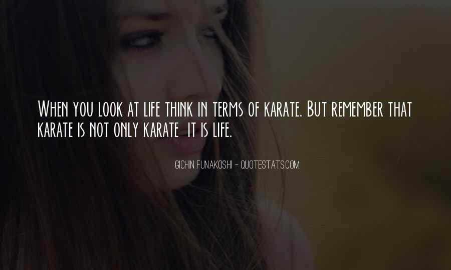 Gichin Funakoshi Quotes #970758