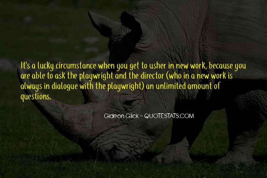 Gideon Glick Quotes #588712
