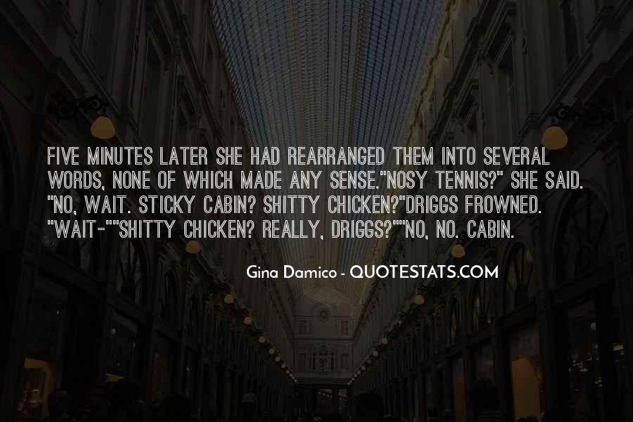 Gina Damico Quotes #1245136