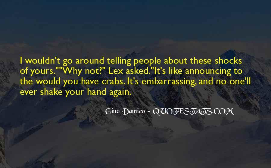Gina Damico Quotes #1764097