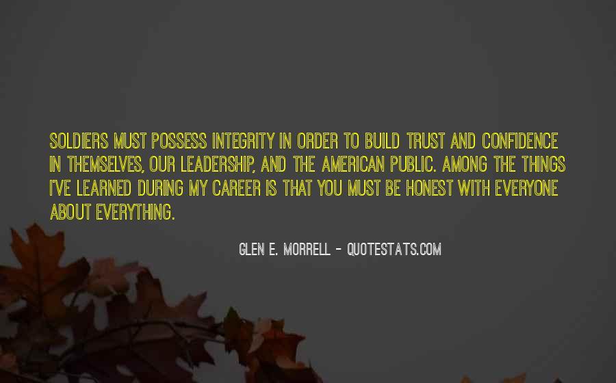 Glen E. Morrell Quotes #499113