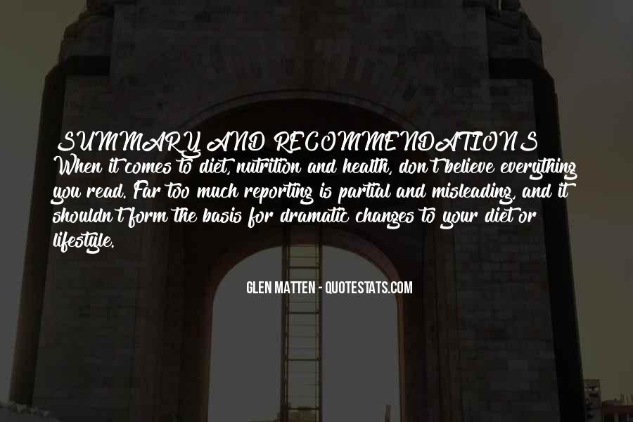 Glen Matten Quotes #109718
