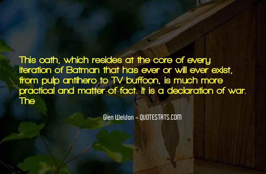 Glen Weldon Quotes #1216263