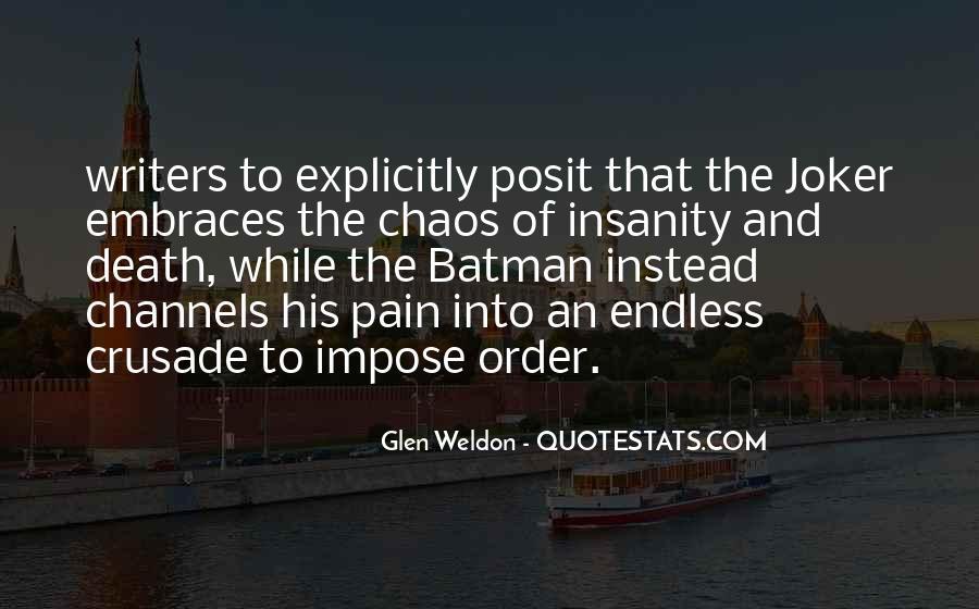 Glen Weldon Quotes #1217992