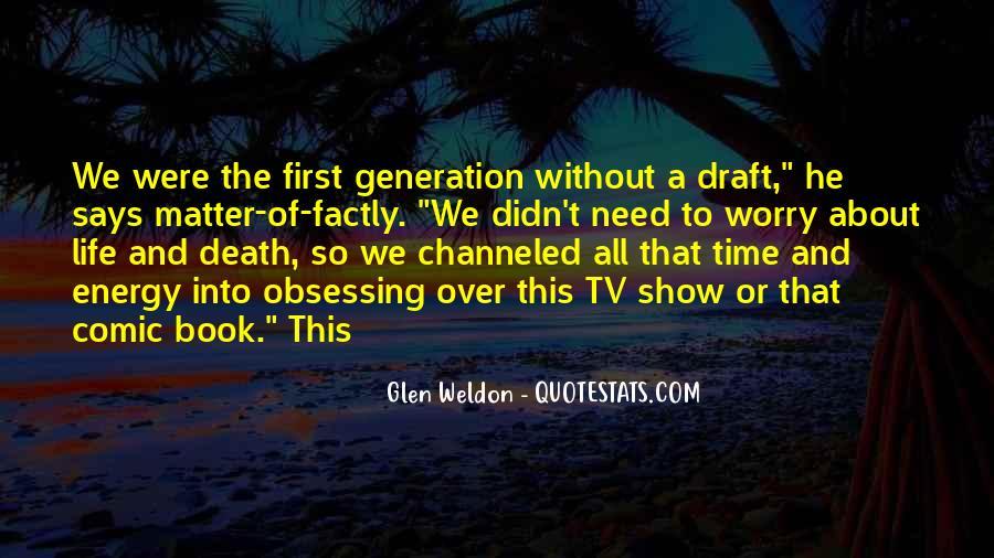 Glen Weldon Quotes #1713897