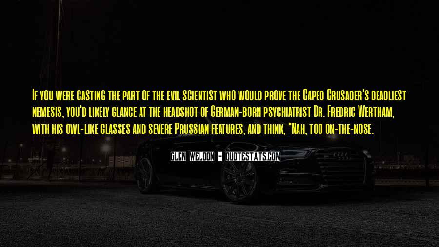 Glen Weldon Quotes #1790571