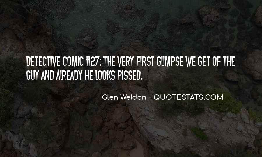 Glen Weldon Quotes #399400