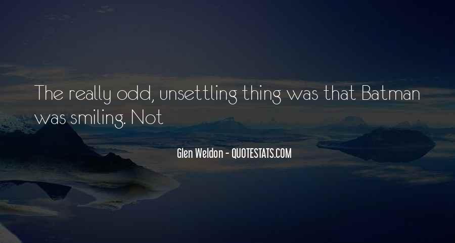 Glen Weldon Quotes #46884