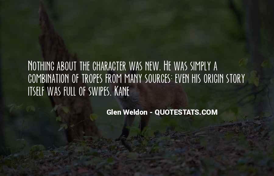 Glen Weldon Quotes #851462