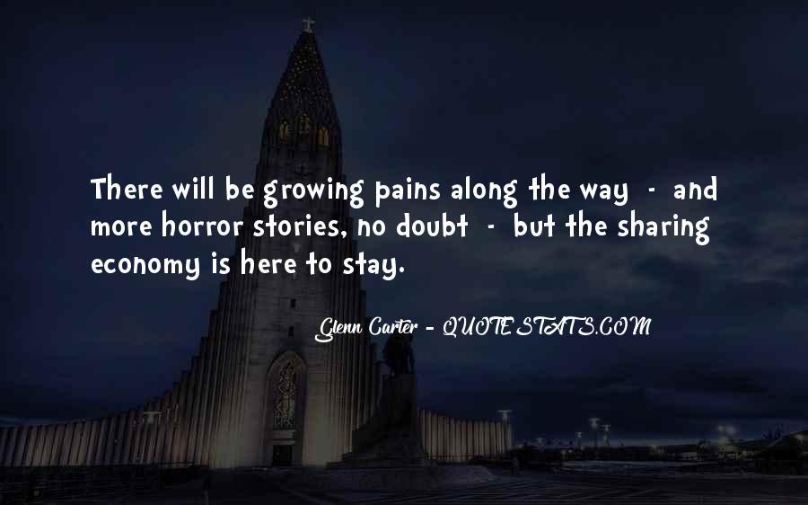 Glenn Carter Quotes #30889