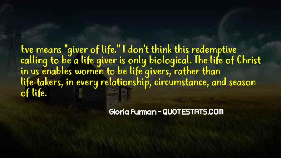 Gloria Furman Quotes #1479744