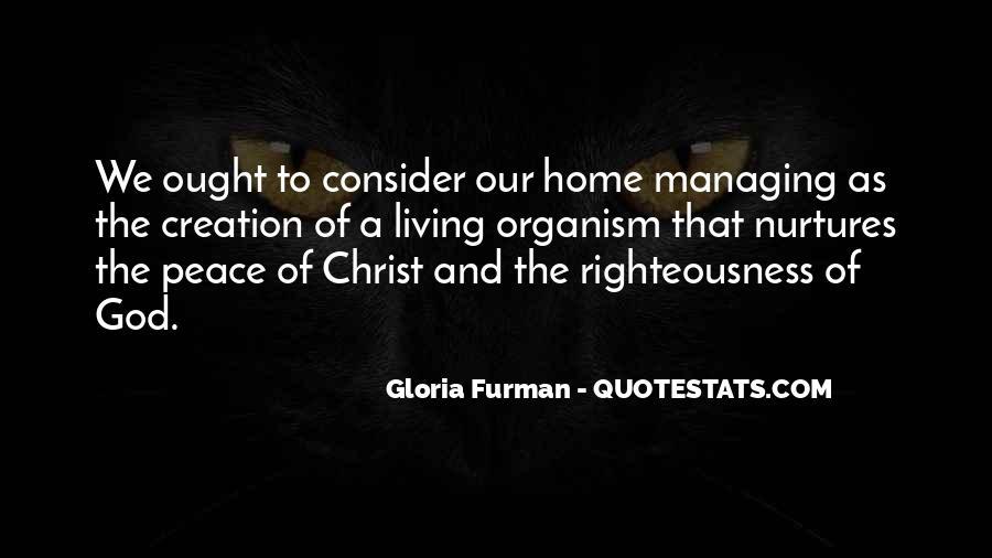 Gloria Furman Quotes #257955